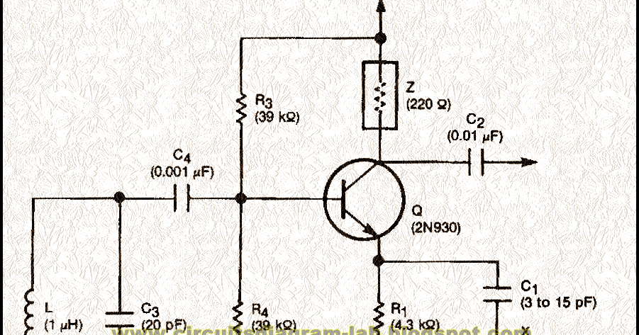 crystal controlled reflection oscillator circuit diagram circuits