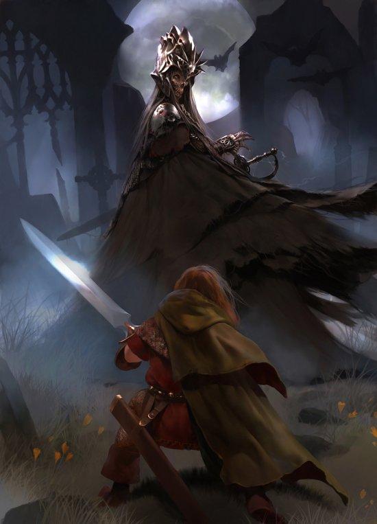Brad Rigney deviantart artstation arte ilustrações fantasia ficção científica games sombrio conceitual
