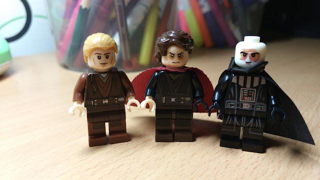 Энакин Скайуокер и Дарт Вейдер фигурки лего Звездные войны Star Wars купить