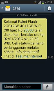 Paket Flash Telkomsel 5GB 30 Hari Mulai dari 65 Ribu Mau? Ini Cara Daftarnya