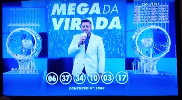 Resultado da Mega Sena da Virada 2017