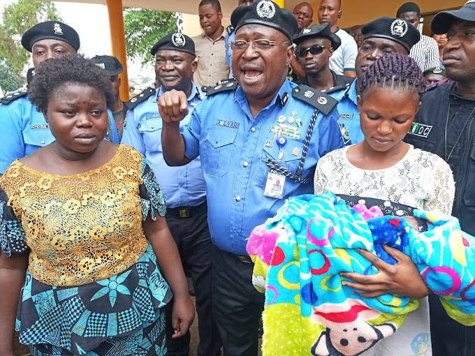 A womam was arrested in Ogun State with a three week stolen baby