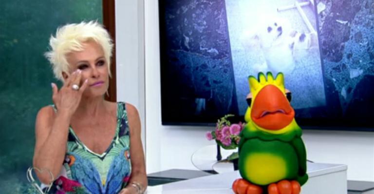 Ana Maria Braga desmente boato de que está com câncer no rosto
