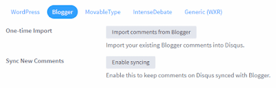 Cara Import Komentar Default Blogger ke Komentar Disqus