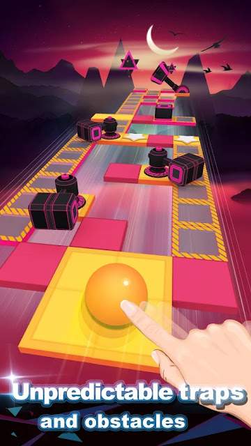 Rolling Sky APK  MOD Unlimited Ball + Shields