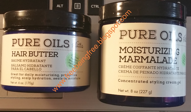 Silk Essentials Hair Butter and Moisturizing Marmalade