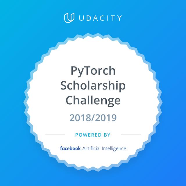 Udacity - Challenge Recipient - PyTorch Scholarship Challenge