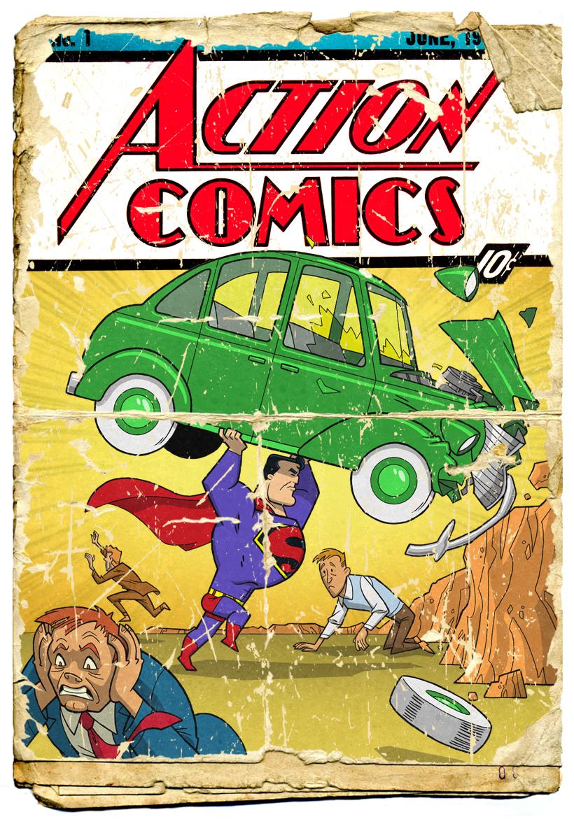 Minion Factory My Animated Superman Part 1