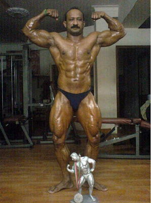 Indian Army Bodybuilder workout plan