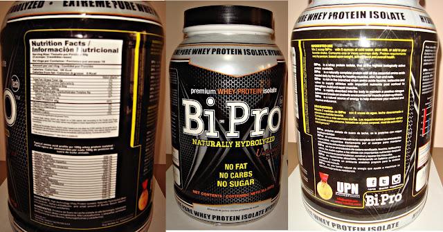 Bipro UPN review nutrición proteína