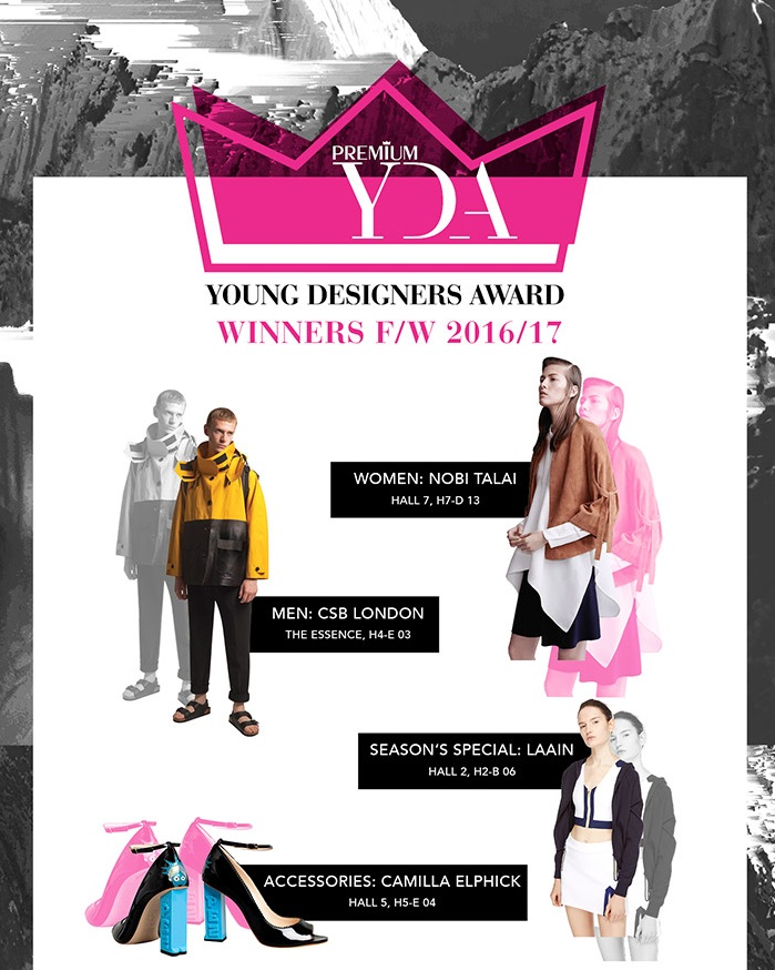Young Designers Award Winners F/W 2016/17