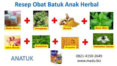 Obat Batuk Herbal Anak Terbaik