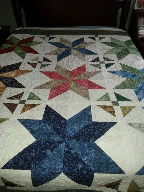 The Big Star Quilt - Tutorial