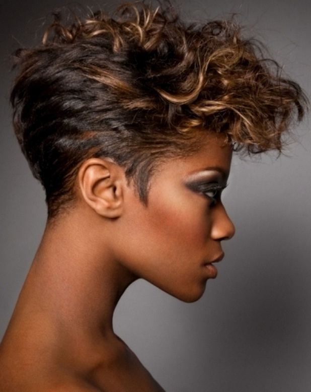 short hairstyles for black women short haircuts 2013