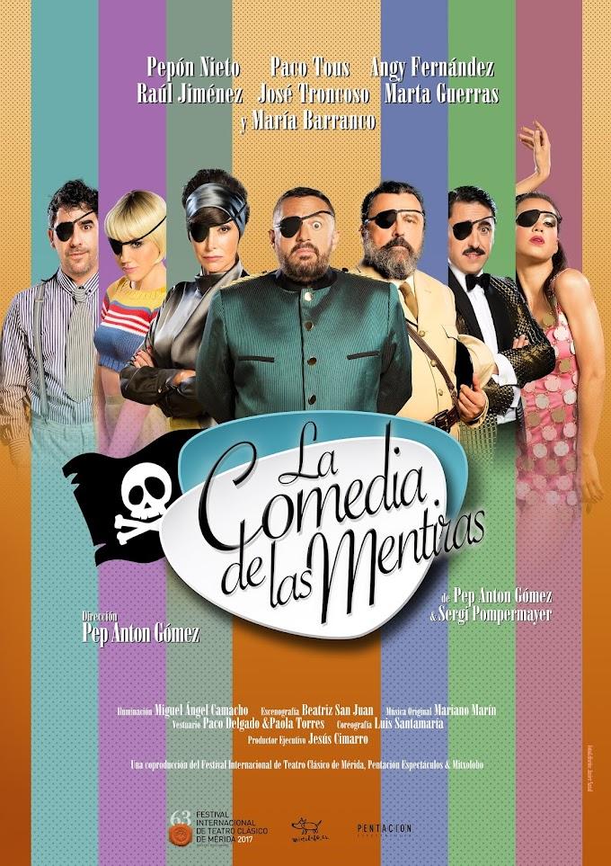 """Teatro: """"La comedia de las mentiras"""" en el Teatro Latina"""