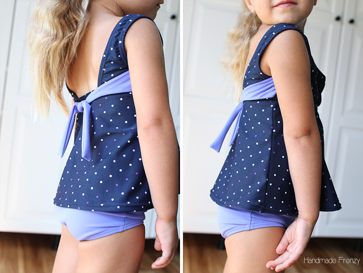 Classic Maillot Swimsuit Pattern: Sewn by Handmade Frenzy