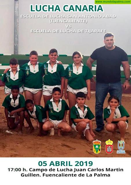 Lucha Canaria E.L. San Antonio Abad vs E.L. de Tijarafe