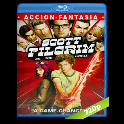 Scott Pilgrim Vs Los Ex De La Chica De Sus Sueños (2010) BRRip 720p Audio Trial Latino-Castellano-Ingles 5.1