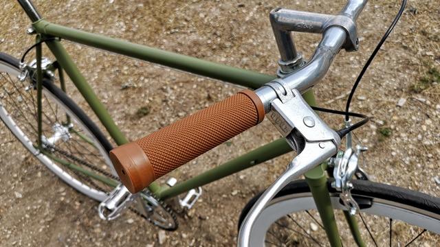 Griffe braun Fahrrad Fixie und Singlespeed