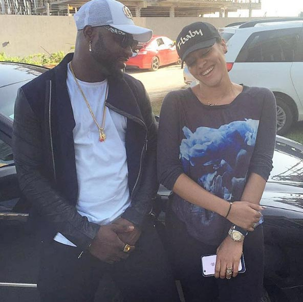 "Harrysong says he has ""great respect"" for Tania Omotayo as duo hang out"