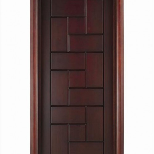 Twinkle furniture trading modern wood panel door designs for Modern wooden main door design