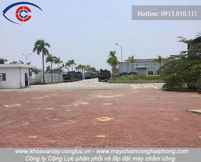 Hình ảnh công ty ô tô Huazhong Việt Nam tại KCN Đồ Sơn.