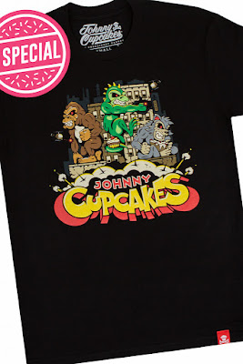 "Rampage ""Monster Attack"" T-Shirt by Johnny Cupcakes"
