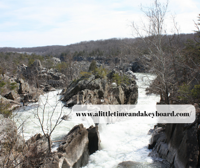 Great Falls Maryland stunning rapids