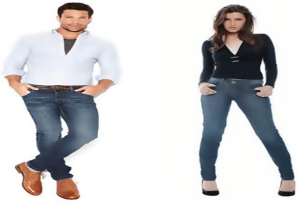 Calça-jeans-justa