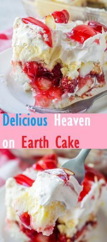 Delicious Heaven on Earth Cake
