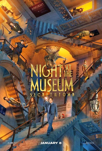 ตัวอย่างหนัง Night at the Museum: Secret of the Tomb (ความลับสุสานอัศจรรย์) ซับไทย poster2