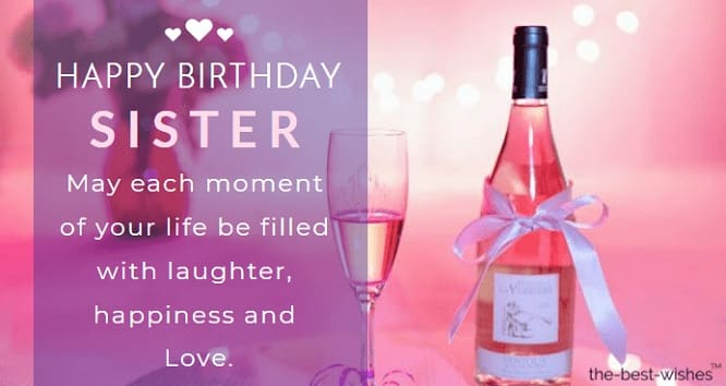 Happy Birthday Love Quote for Sister
