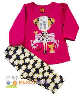Fornecedor de roupas infantis no kg