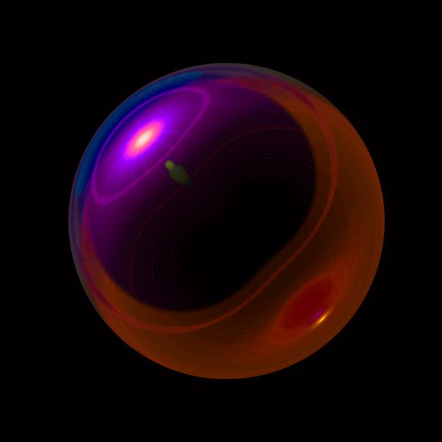 photoshop 3D sphere