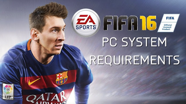 FIFA 16 Requisitos PC