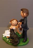 statuette personalizzate torta matrimonio milano sposini divertenti simpatici orme magiche
