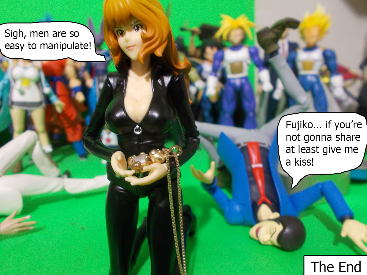 figuarts - Fujiko and the Diamond Bear 75-end