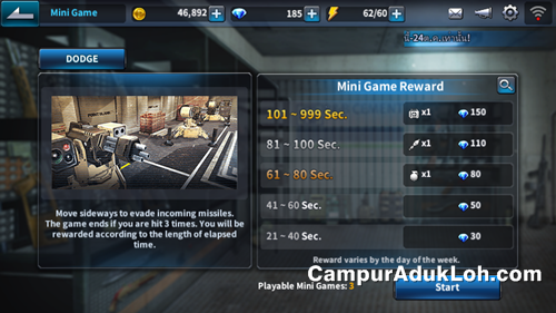 dapat diamond gratis point blank mobile