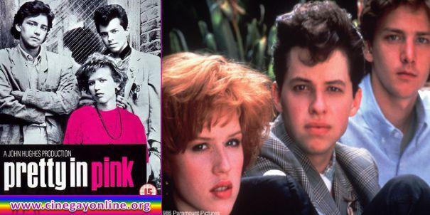La chica de rosa, película