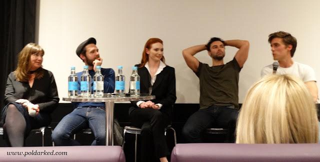 Poldark S3 Q&A, Aidan Turner, Luke Norris, Eleanor Tominson, Jack Farthing