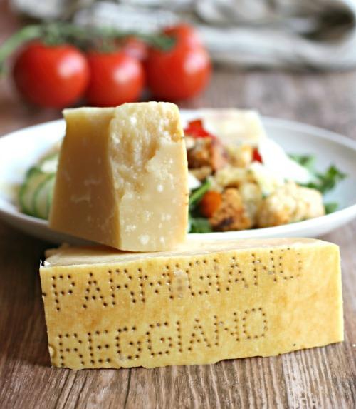 Parmesan Panzanella Salad