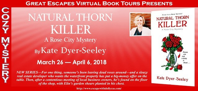 The power of words      : Review + GIVEAWAY: Natural Thorn Killer by