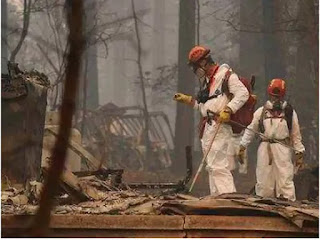 President Trump Visit As Number Of Dead In California Wildfire Rises
