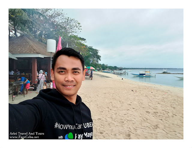 A selfie at HK Moalboal Resort getting ready for Pescador islet visit