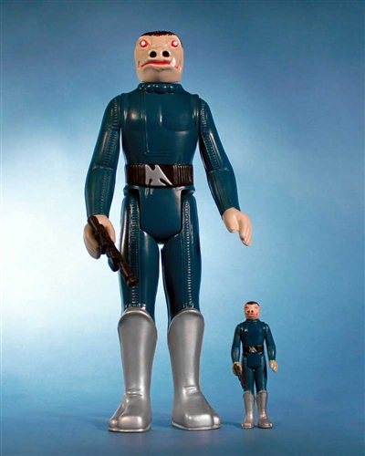 San Diego Comic-Con 2012 Exclusive Blue Snaggletooth 12 Inch Jumbo Vintage Kenner Star Wars Action Figure by Gentle Giant