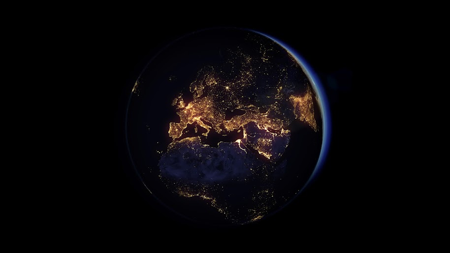 planet earth space 8K 159