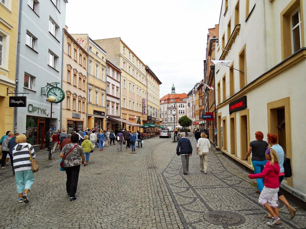 miasto, Dolny Śląsk, zwiedzanie, turystyka