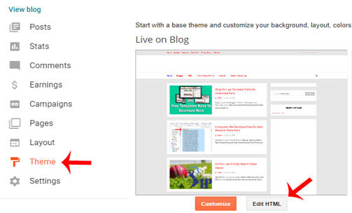 Blog-Ke-Template-Se-Footer-link-kaise-remove-kare