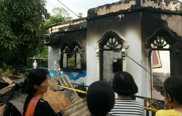 Agoh... Dangol Nai, Togu Marpaung, Istri dan Borunya Tewas Terbakar di Suka Dame