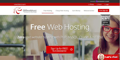 best free web hosting 2018
